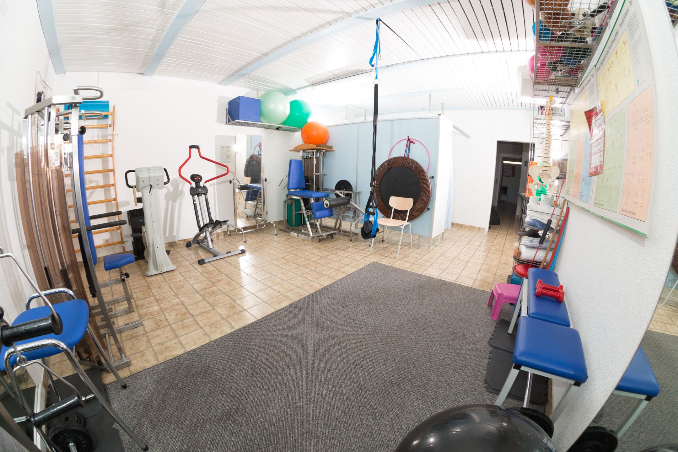 Trainingsraum für Gerätetraining